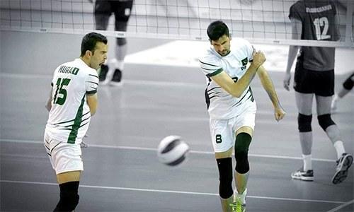 Pakistan stun Indonesia in Asian Volleyball