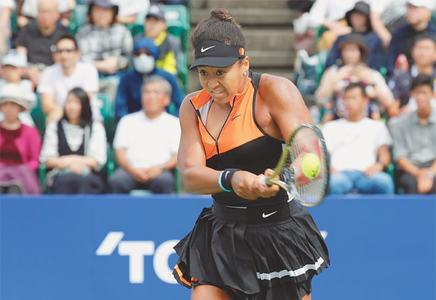 Osaka wins Pan Pacific Open for first title on home soil