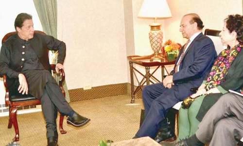 Imran briefs US legislators about India's excesses