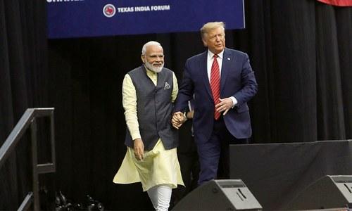 'وائٹ ہاؤس میں بھارت کا سچا دوست موجود ہے'