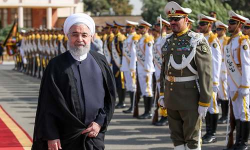 Rouhani heads to UN in quest to win Iran support against US