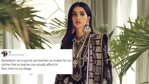 Elan's new 'affordable' collection costs Rs20,000 and Pakistani Twitter has a lot to say