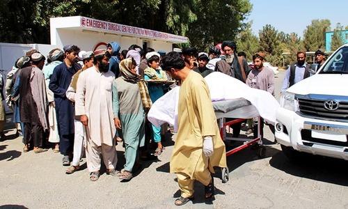 افغانستان: اتحادی فورسز کی کارروائی، شادی کی تقریب میں شریک 35 افراد ہلاک