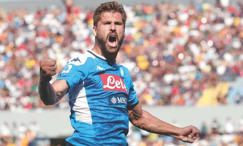 Napoli's Llorente shines again after CL heroics