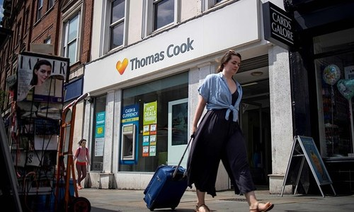UK plans to fly 135,300 people back after Thomas Cook collapse