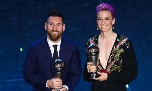 میسی نے فیفا کے سال کا بہترین کھلاڑی کا ایوارڈ جیت لیا