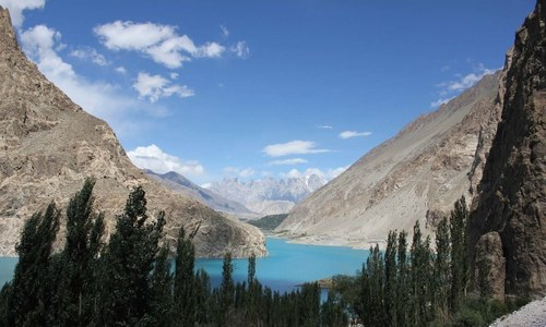 On Climate Week, revisit the Attabad Lake tragedy