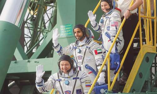 UAE celebrates its first astronaut in space