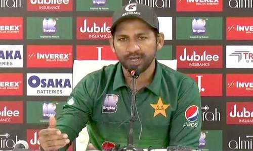International cricket incomplete without Pakistan, says Sarfaraz