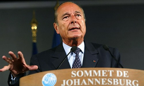 Former French president Chirac, who stood up to US, passes away