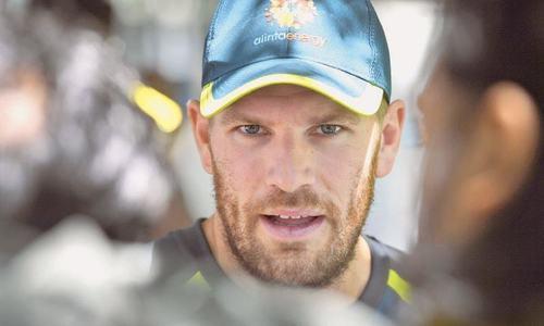 Australia's Finch eyeing Test comeback