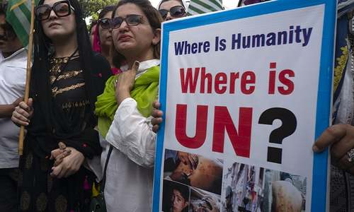 Residents of occupied Kashmir eagerly await UN speeches by Imran, Modi