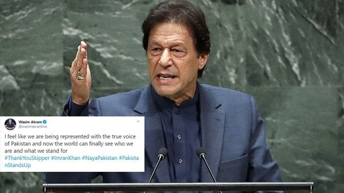 Pakistanis loved PM Imran Khan's UN speech and so did our celebs