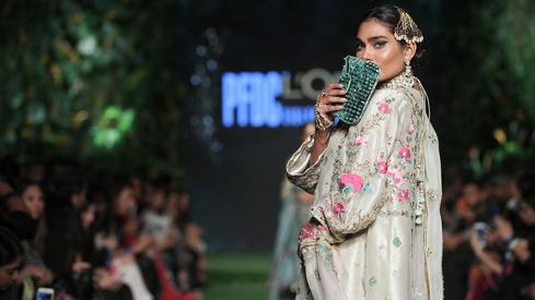 PLBW Day 2: Mahgul makes bridal wear cutting edge while Misha Lakhani keeps it classy