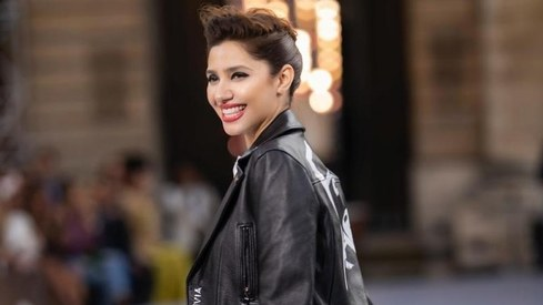 Mahira Khan goes rocker chic at Paris Fashion Week