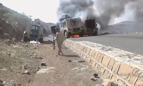 Houthis claim capturing Saudi troops, vehicles
