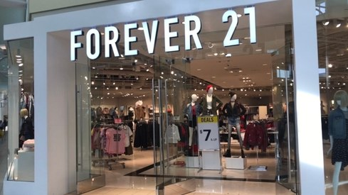 Popular fashion retailer Forever 21 has filed for bankrupcy