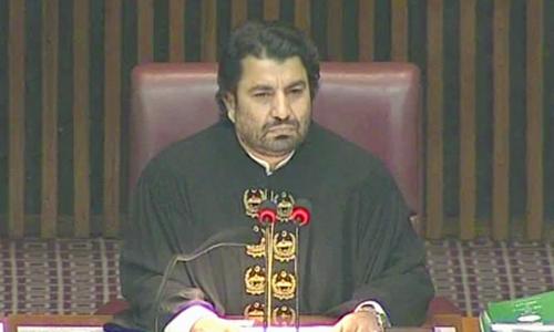 Qasim Suri petitions Supreme Court against election tribunal's order to deseat him