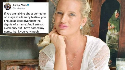 Shaniera Akram has a name and it's not 'Wasim Akram's wife'