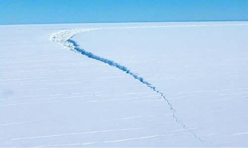 Massive iceberg breaks off Antarctica — but  it's normal