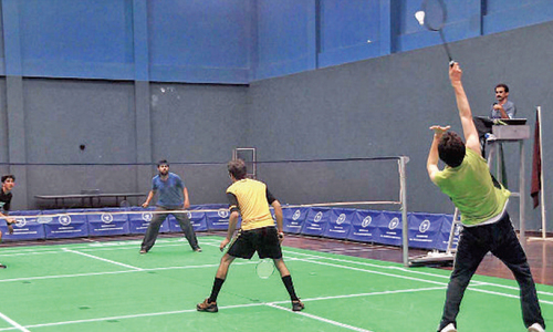 Pakistan to host international badminton event in November
