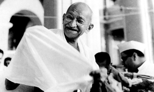 With Gandhi's coming, Urdu poets became optimistic. Here's why
