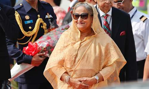Bangladesh PM Sheikh Hasina arrives in New Delhi on 4-day visit, expected to sign trade, investment accords