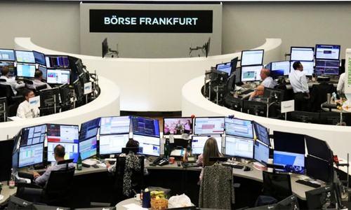 After bruising week, global stocks make fragile gains ahead of US jobs data