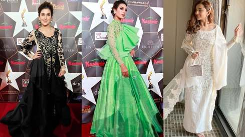 Nobody won the red carpet at this year's Hum Awards