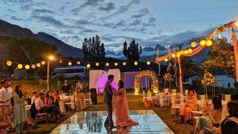 Yes, you can have a destination wedding right here in Pakistan