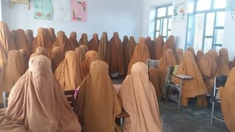 Social media outrage as official buys burqas for students in KP village