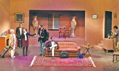 Alhamra's latest play is an Agatha Christie murder mystery adaptation