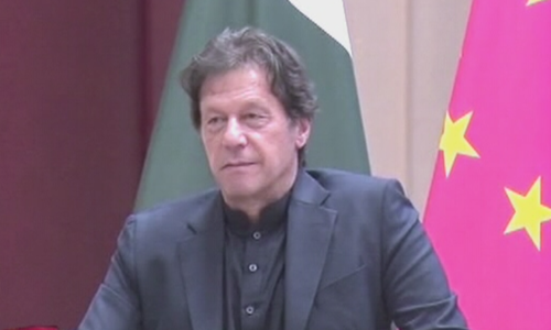 'Wish I could follow President Xi's example and put 500 corrupt people in Pakistan in jail,' says PM Imran
