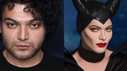 This Pakistani makeup artist's wicked transformation into Maleficent will leave you shook