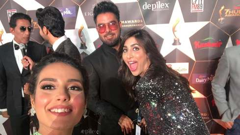 I attended the Hum Awards for the first time and it was kind of amazing