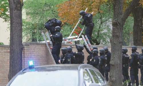 Two shot dead in Yom Kippur attack on German synagogue
