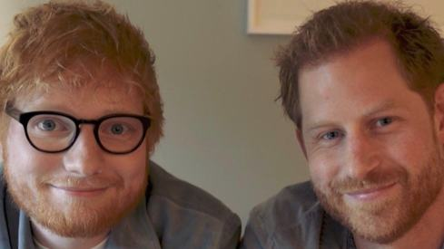 Prince Harry and Ed Sheeran encourage people to reach out