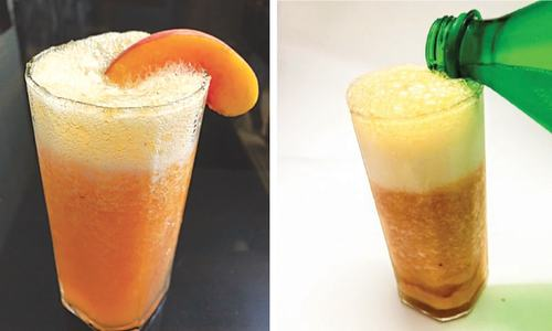 Cook-it-yourself: Peach mocktail