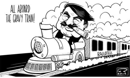 Cartoon: 13 October, 2019