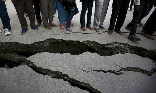 Earthquake of 5.8 magntiude jolts KP, northern areas