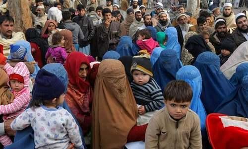 'افغانستان میں تشدد کی نئی لہر پاکستان میں مہاجرین میں آمد کا باعث بنن سکتی'