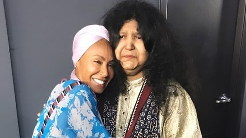 Jada Pinkett Smith calls Abida Parveen her spiritual mother