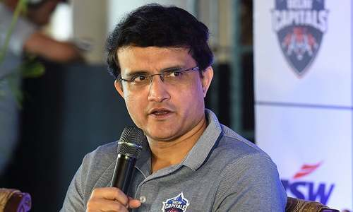 Ex-India skipper Ganguly poised to become BCCI chief