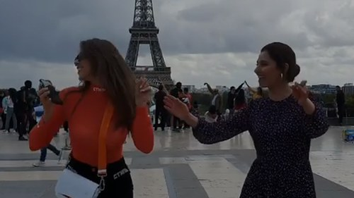 Did you see Mahira Khan sway to Arabic music in front of the Eiffel Tower?
