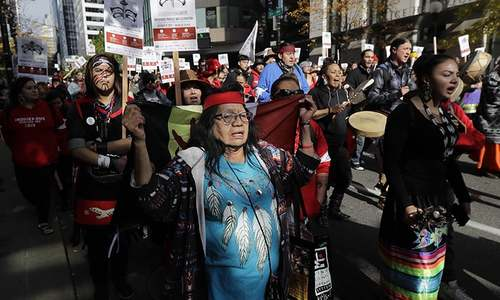 Some US states mark their first Indigenous Peoples' Day