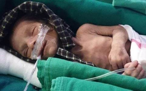 Man burying daughter finds newborn alive in grave in northern India