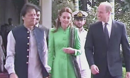 Prince William, Kate Middleton meet Prime Minister Imran