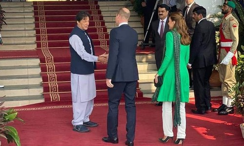 Prince William, Kate Middleton meet Prime Minister Imran, President Alvi