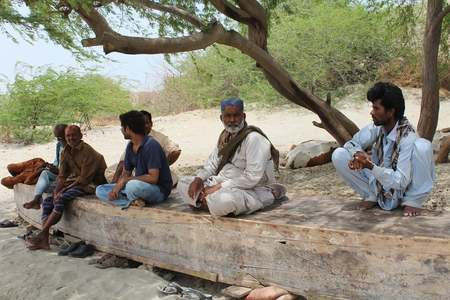 Fishing villages dry up on the Indus