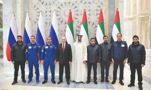 Putin seeks to expand ties with UAE